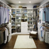 Bedroom closet, wardrobe storage design