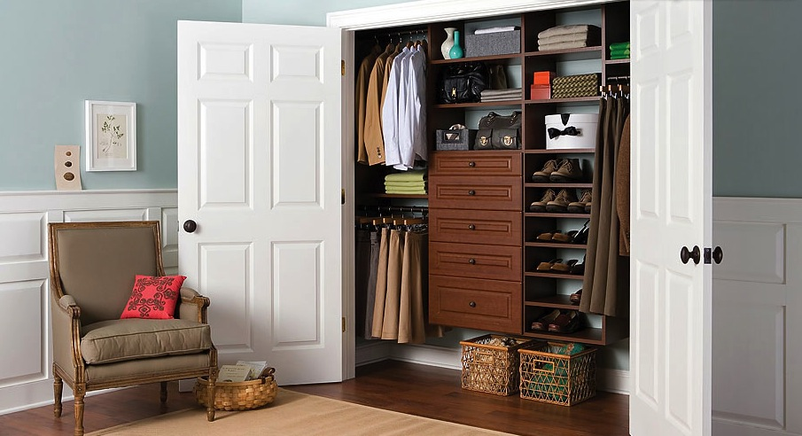Bedroom Custom Closet Design Solutions