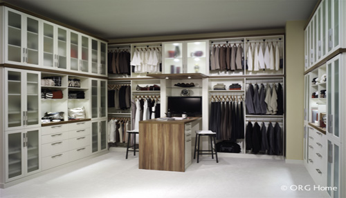 Custom Bedroom Closet Cabinets