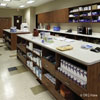 Commercial workstations, organizing storage solutions