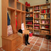 Entry Room closets storage design