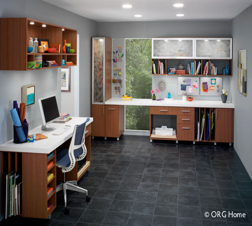 Custom storage design solution using computer assisted design software.