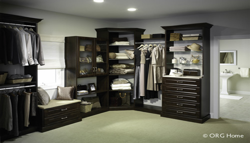 Mens Bedroom Closet Organizer