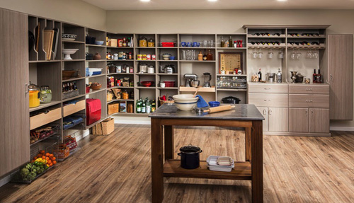 Pantry Cabinet Shelves Drawers