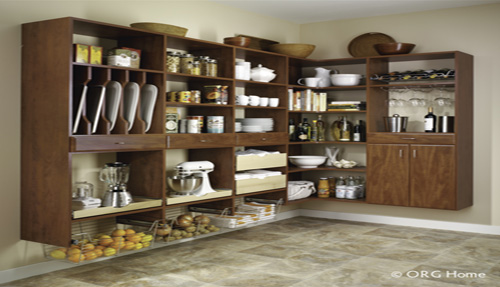 Pantry Organizing Shelves Cabinets Drawers