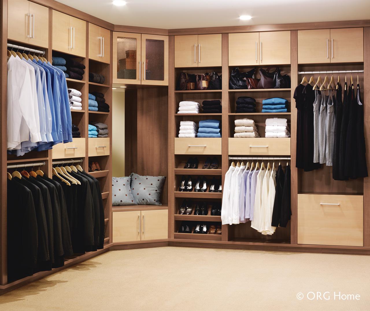 Features Closet Design Systems Custom Closet Materials